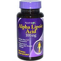Alpha Lipoic Acid 100 mg от Natrol